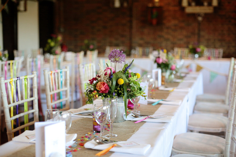 A Colourful Village Hall Wedding In Kent With Lots Of Diy And A Tea