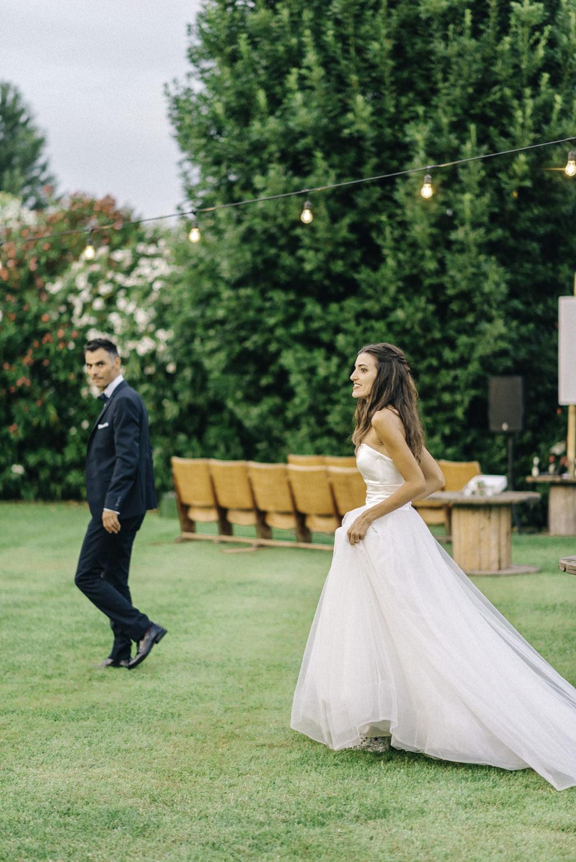 on sale af7b3 abe52 Rustic Outdoor Wedding at Borgo dei Conti della Torre in Italy