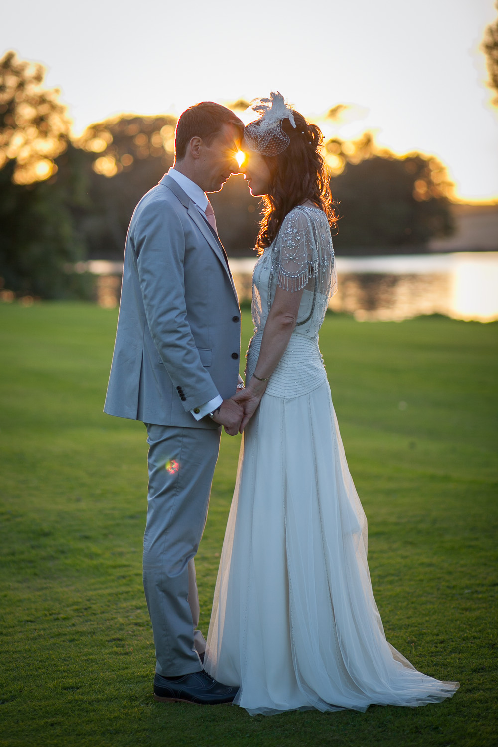 A Jenny Packham \'Damask\' bridal gown for a wedding at Newburgh ...