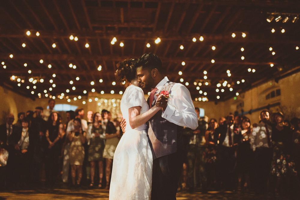 Tropical Sri Lankan Themed Wedding At Trinity Buoy Wharf With Bridal