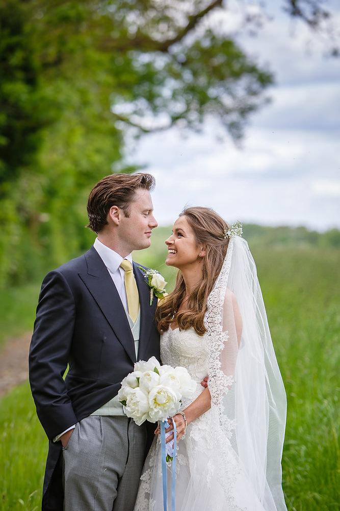 Blue Flower Wedding Dresses for Parents