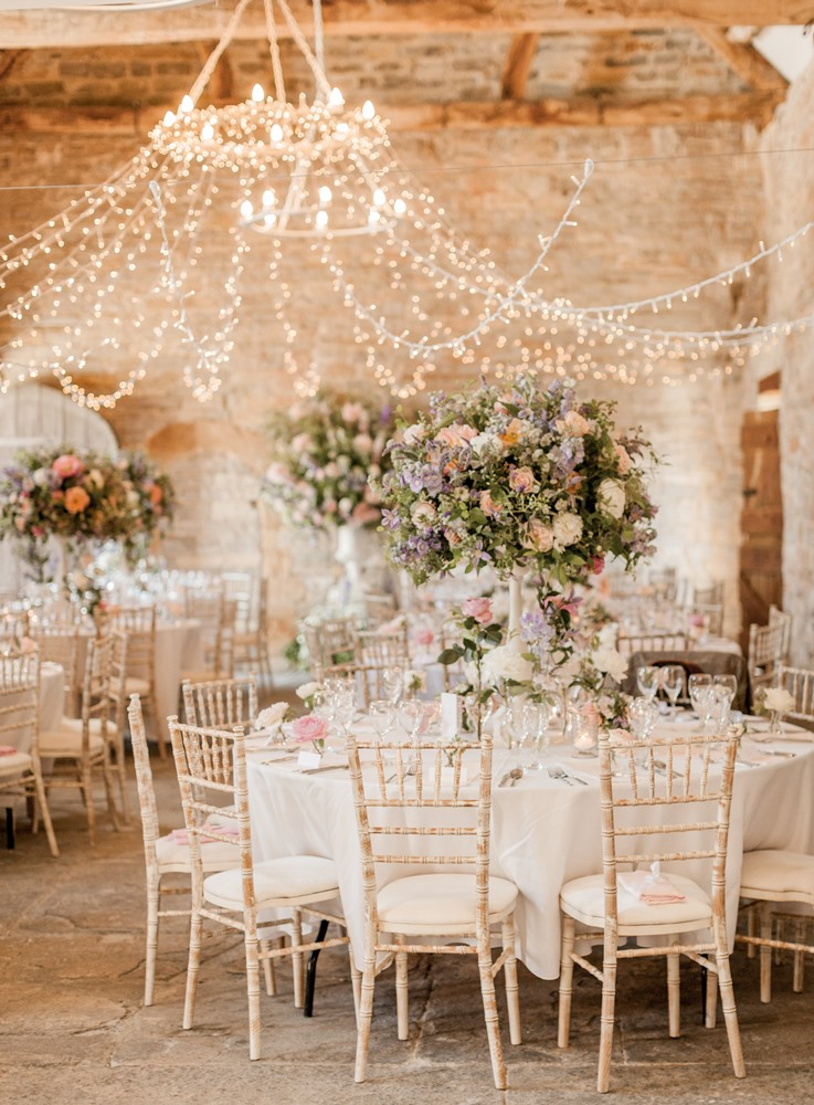 Almonry barn romantic wedding with pink colour scheme blush flowers images by a junglespirit Image collections