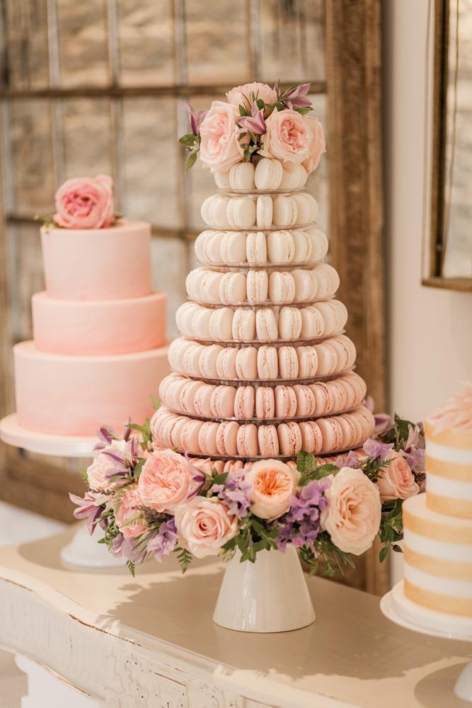 Almonry Barn Romantic Wedding With Pink Colour Scheme Blush Flowers