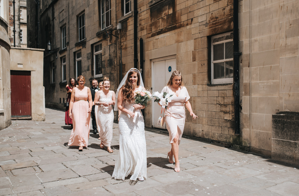 Relaxed Wedding At The Little Theatre Cinema & Silk Mill