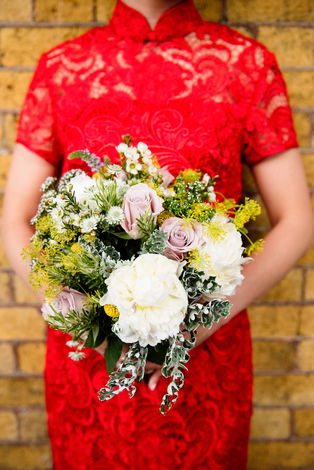 Chinese Tea Ceremony At Civil Wedding UK Catherine Deane Bridal Gown ...