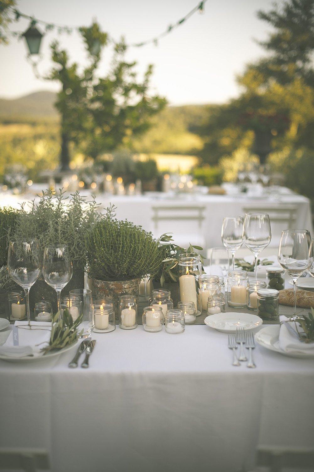 The Perfect Romantic Italian Garden Dinner Party Rock