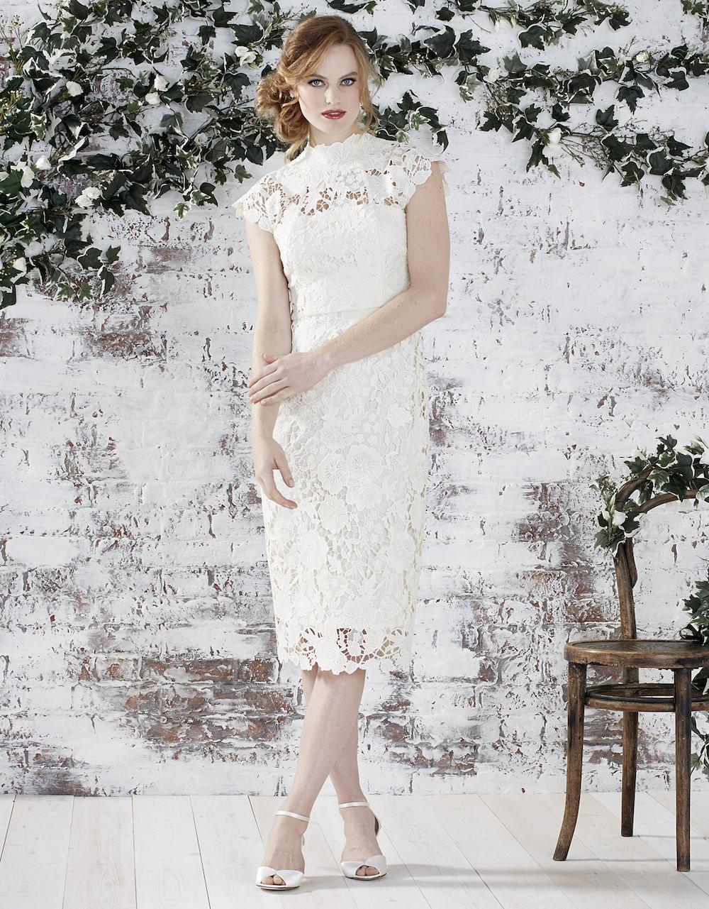 Monsoon bridal ss16 rock my wedding uk wedding blog for Below the knee dresses for wedding