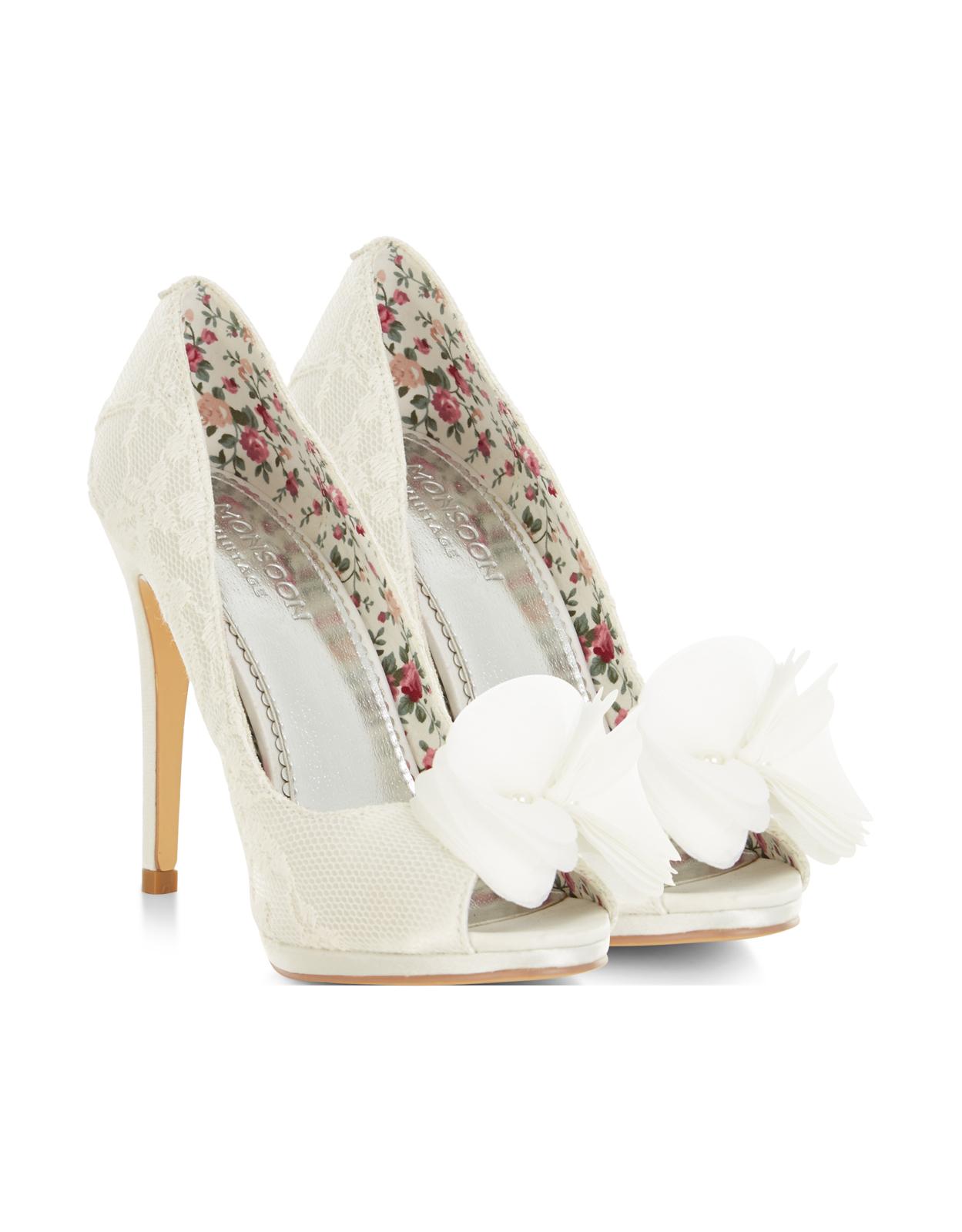 Cream Mary Jane Wedding Shoes