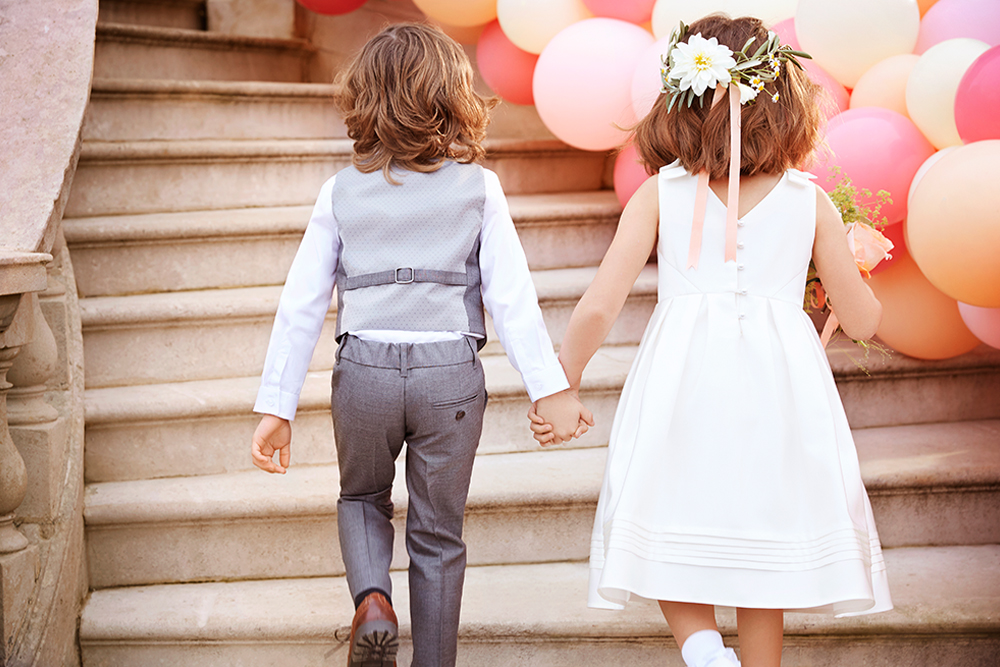 Flower Girl And Page Boy Outfits From Marks Spencer