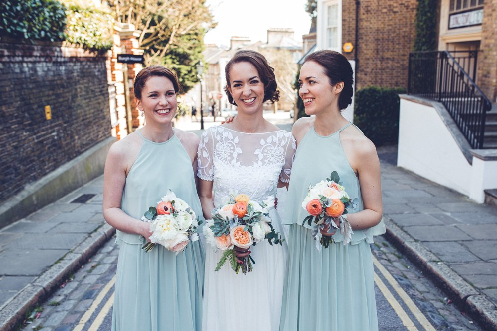 Alice Temperley Saffron Gown for a City Wedding at Burgh House & The ...