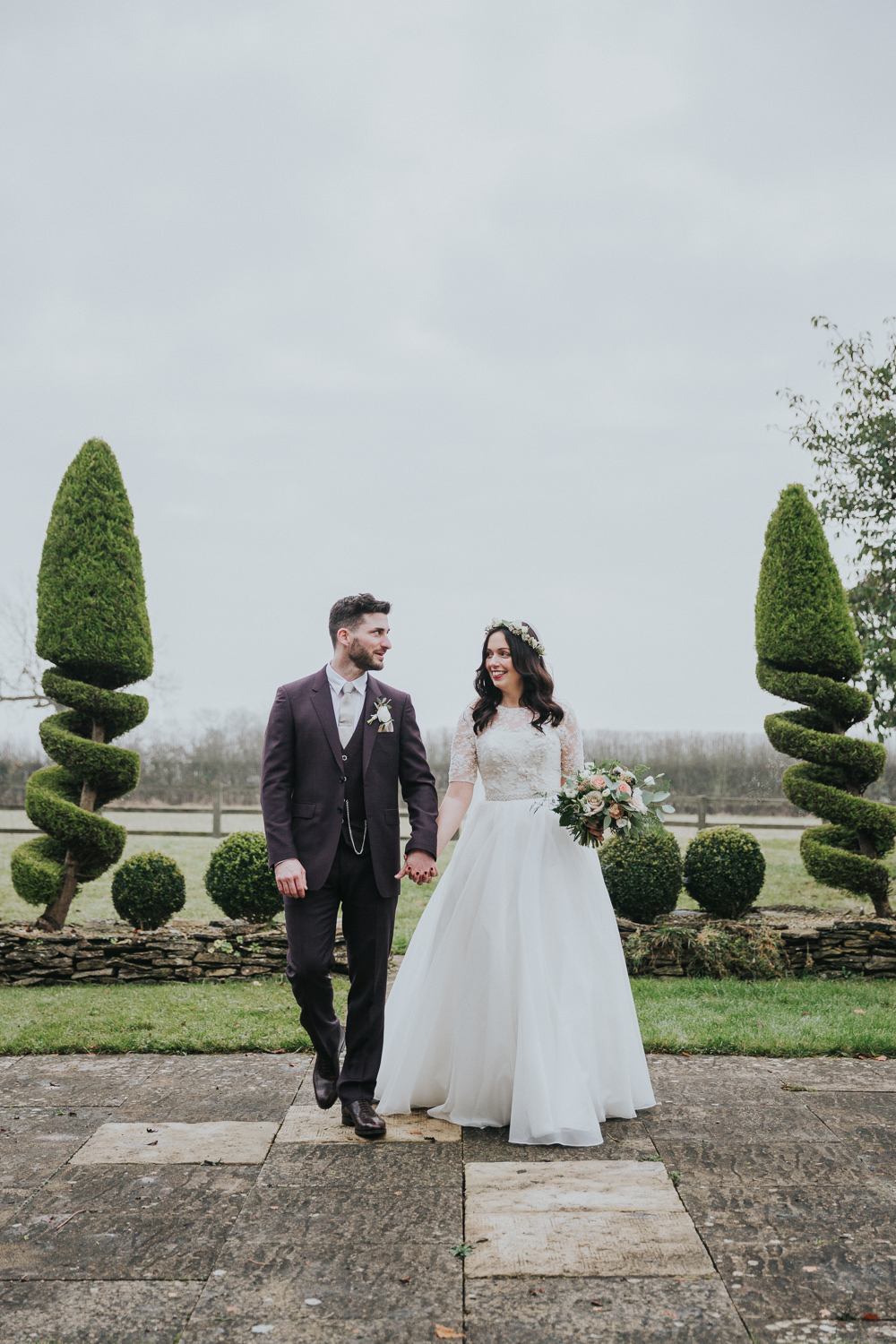 b035d8a565d Christmas Wedding At Exclusive Hire Luxury Cotswold Venue Hyde House With  Images From Kate Gray Photography
