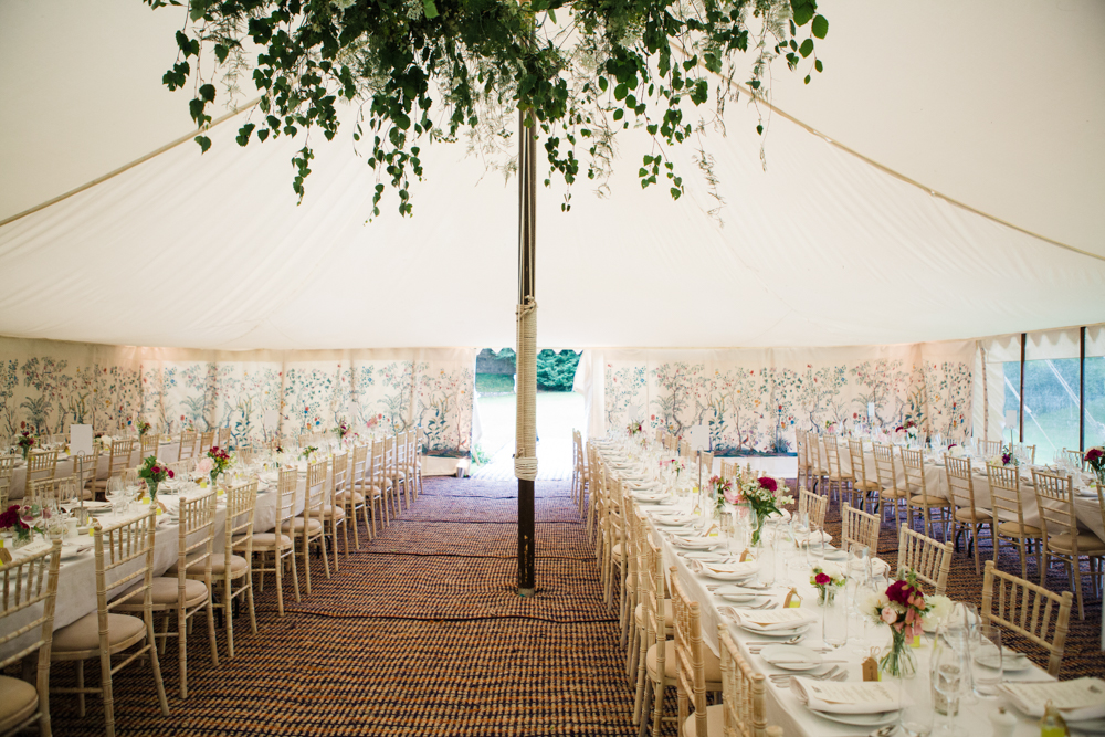 Beautiful Classic Wedding At Cornwell Manor With Marquee Reception