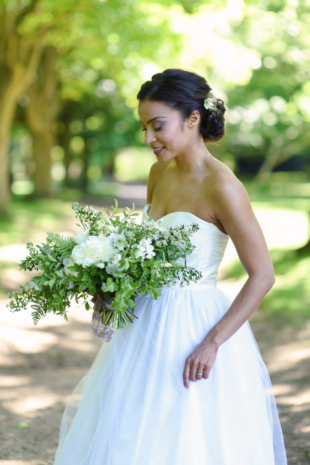 Natural Beauty Inspo For Brides With Olive & Darker Skin Tones