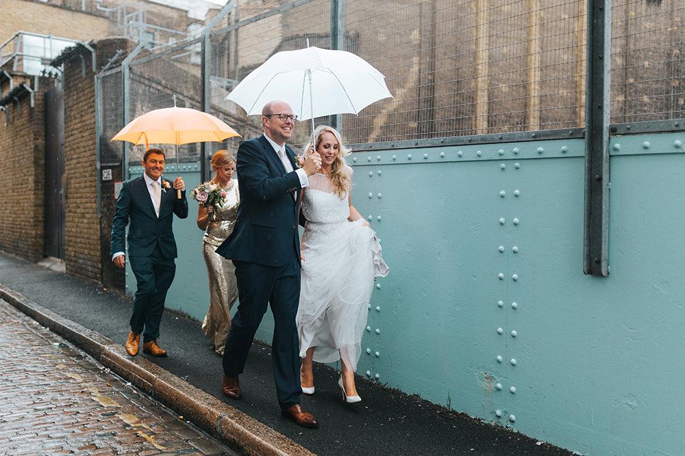 Metallic Geometric Wedding at 06 St Chad\'s Place London