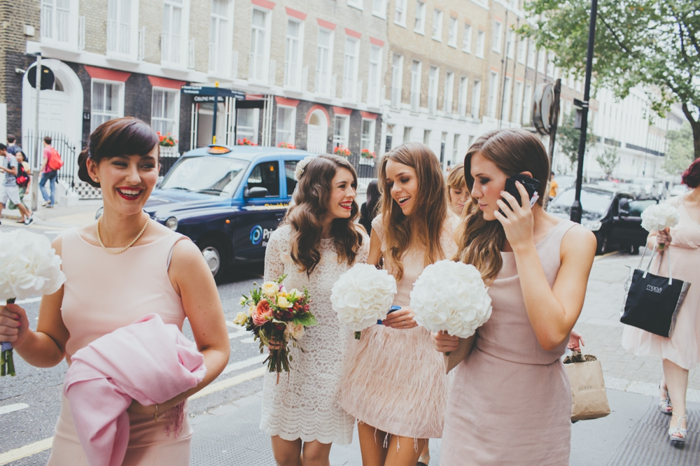 A budget big city wedding at the artisan of clerkenwell for Wedding canape alternatives