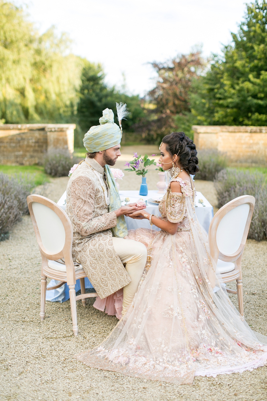 Pastel english countryside asian fusion wedding inspiration junglespirit Choice Image