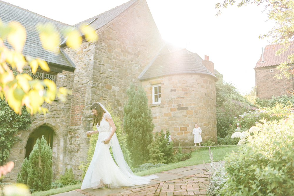Crook Hall Gardens Wedding With Afternoon Tea Reception