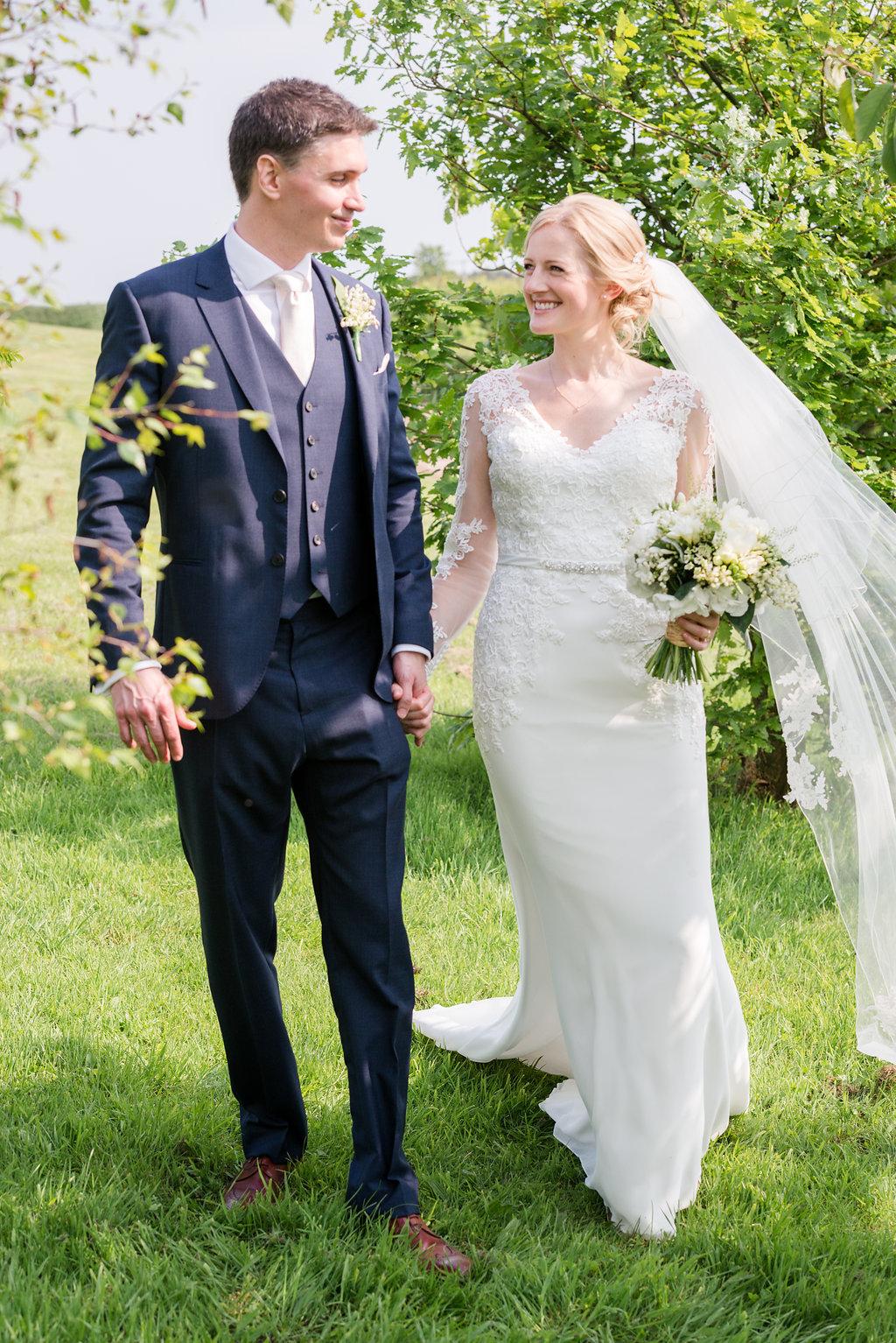 Elegant Greenery & White Rustic Marquee Wedding at Church Farm with ...