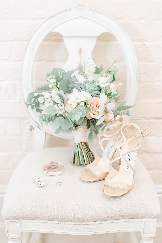 Jimmy Choo Bridal Shoes Romantic Bouquet