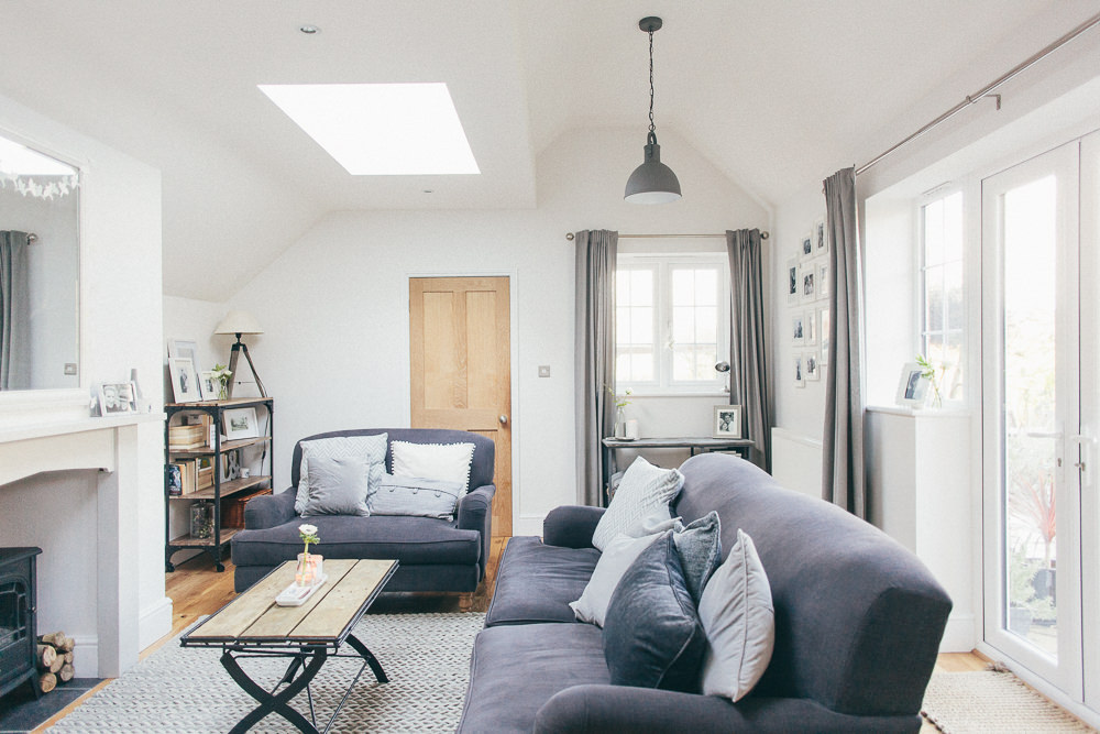 Grey Living Room Via U003ca ...