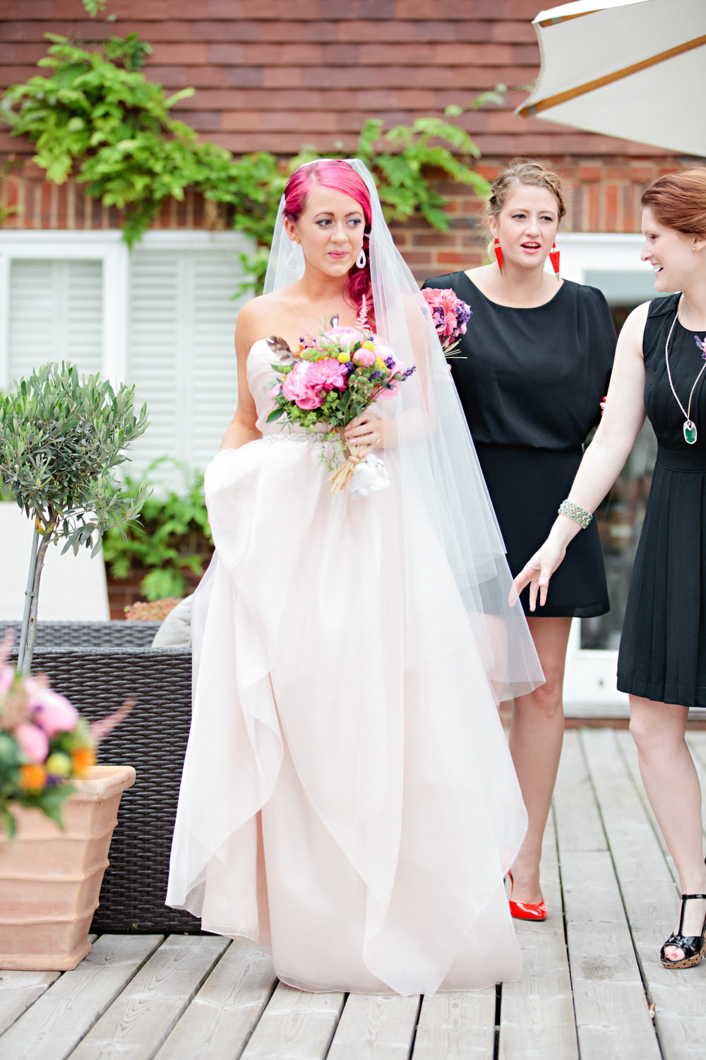Contemporary Festival Inspired Marquee Wedding With A Neon Meets ...