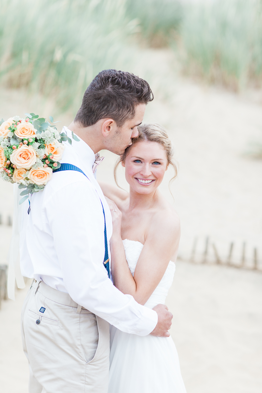 Fishtail Braid Bridal Hair For A Beach Inspiration Shoot At Camber Sands