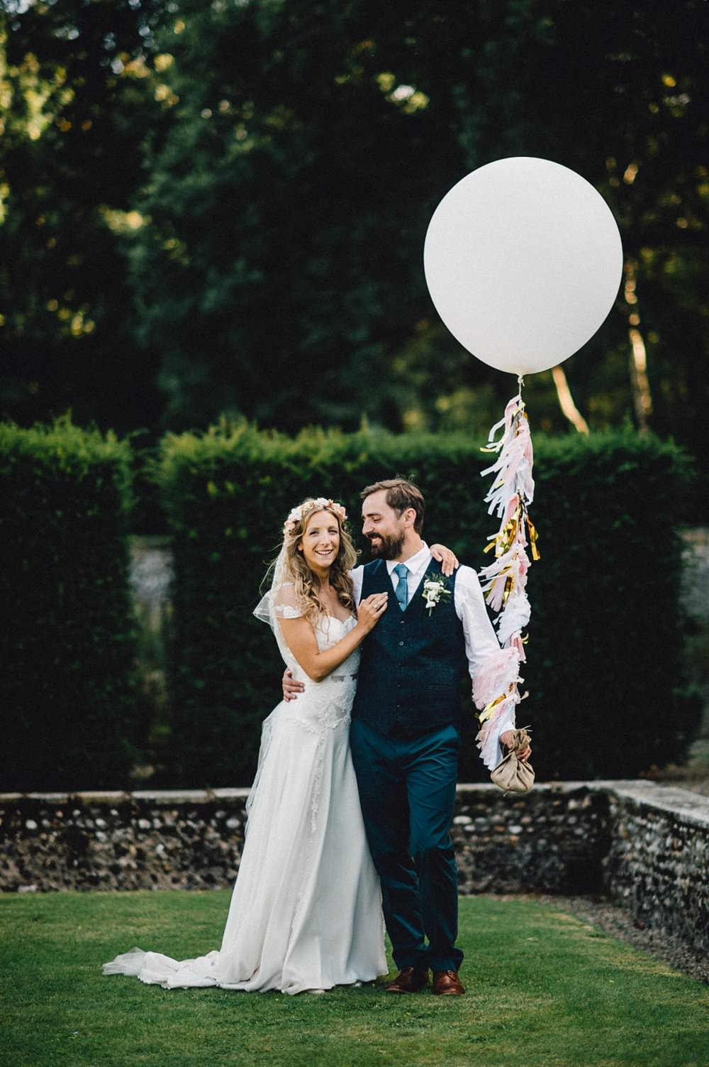 Bride Wears Bespoke Gown Veil By Dana Bolton Outdoor Ceremony At