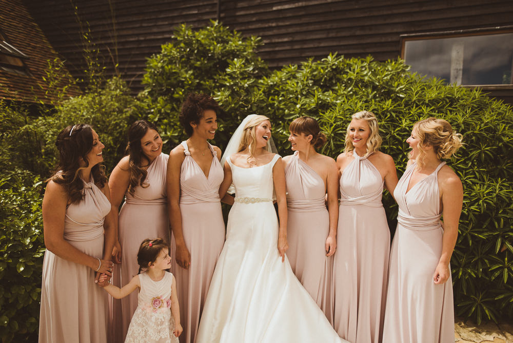 Elegant Wedding At Ramster Hall In Surrey With Pronovias