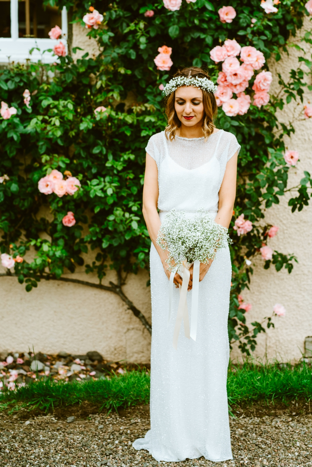 Flossy and Dossy Wedding Dress For A Fun and Quirky Wedding