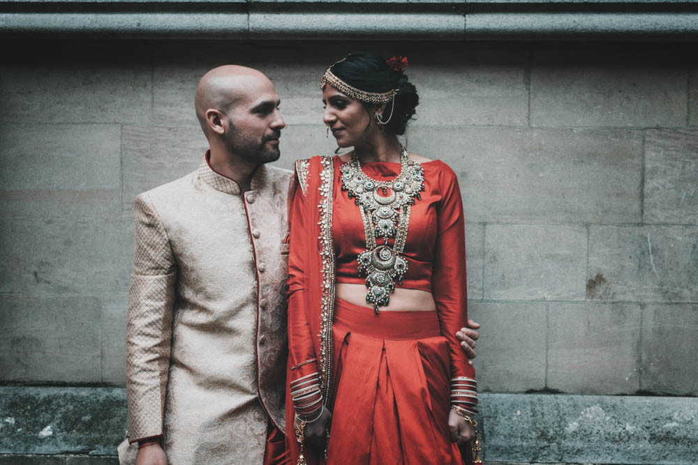 Non Religious Wedding With Indian & Spanish Cultural Traditions