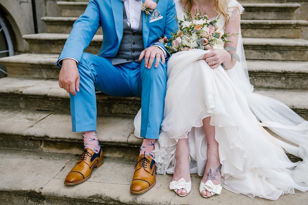 Esme Naomi Neoh Wedding Dress Classic Wedding Kimbolton Castle