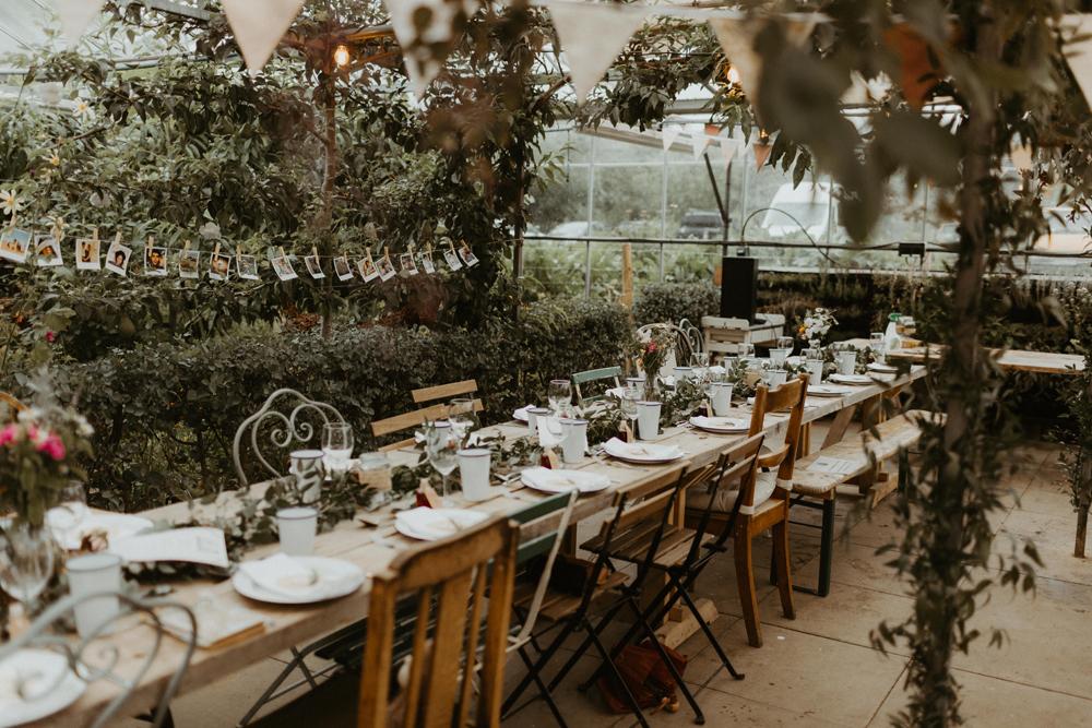 Botanical Greenhouse Wedding At The Secret Herb Garden Edinburgh