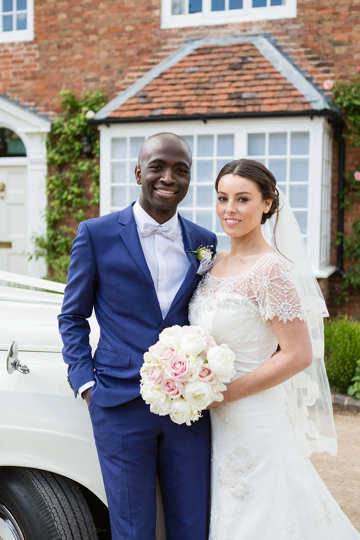 Traditional English Nigerian Fusion Wedding