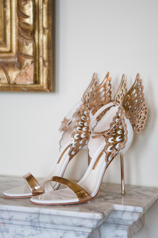 38761dbc Sophia Webster Evangeline Shoes | Elegant Wedding at Aynhoe Park,  Oxfordshire | Lucy Davenport Photography