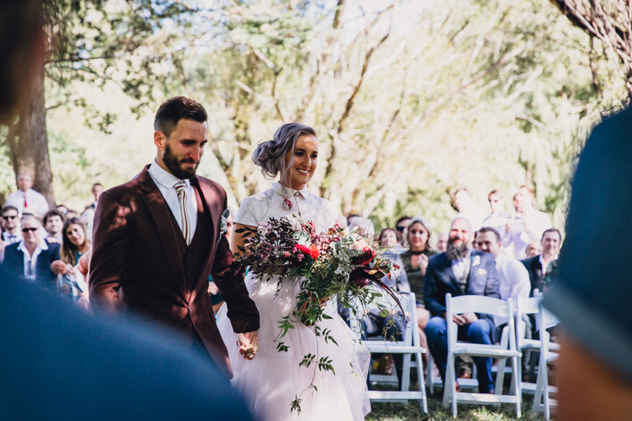 Outdoor Alternative Wedding At Family Farm with Steampunk Navy ...