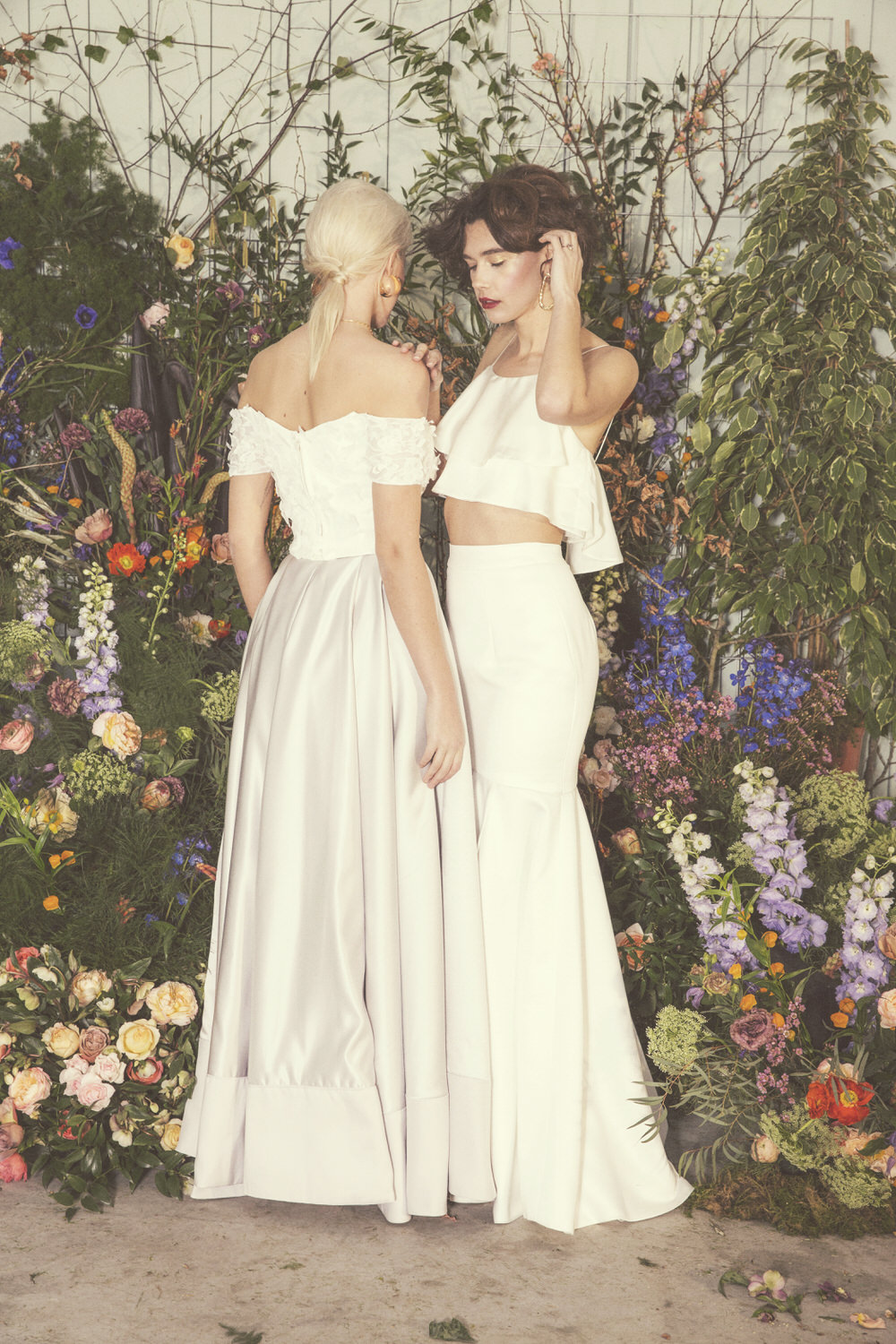 Ready To Wear Bridal Collection With Separates Rasbery Pavlova,Blush Pink Ball Gown Wedding Dress