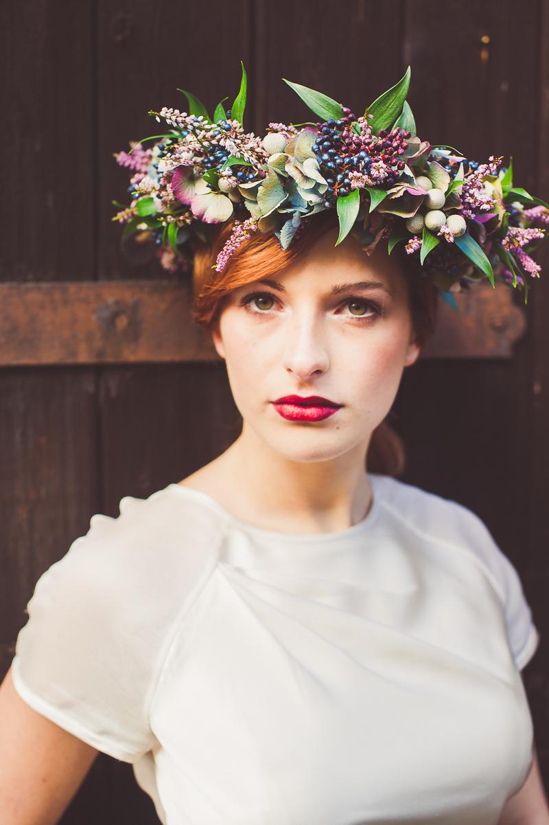 Autumn Fall Inspired Wedding Decor and Fashion Editorial by Rock My Wedding