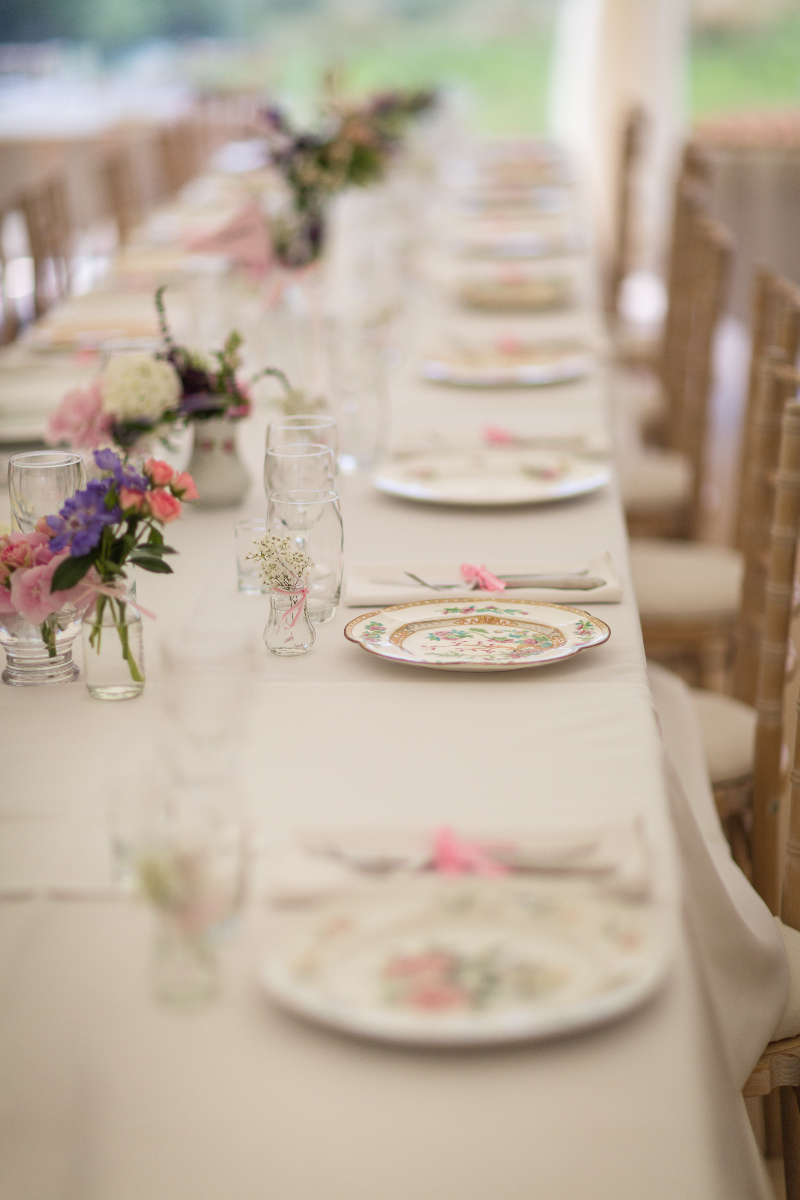 An English Country Garden themed wedding with a bride in Marianne by ...