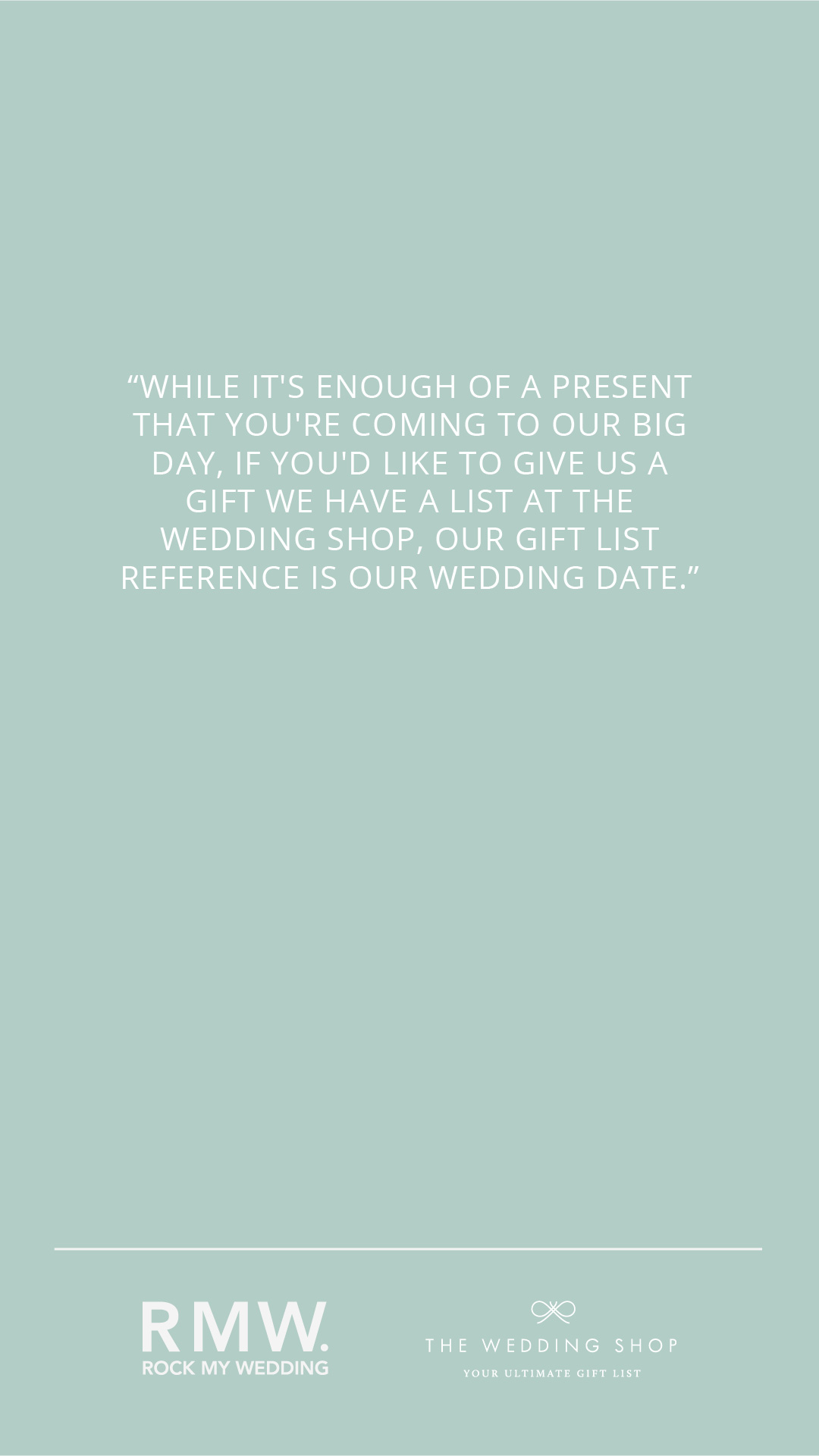 Wedding Gift List Wording Examples How To Ask Graciously