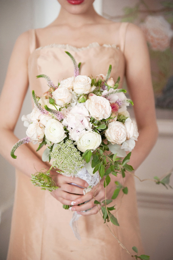 Pretty Wedding Styling At The George In Rye