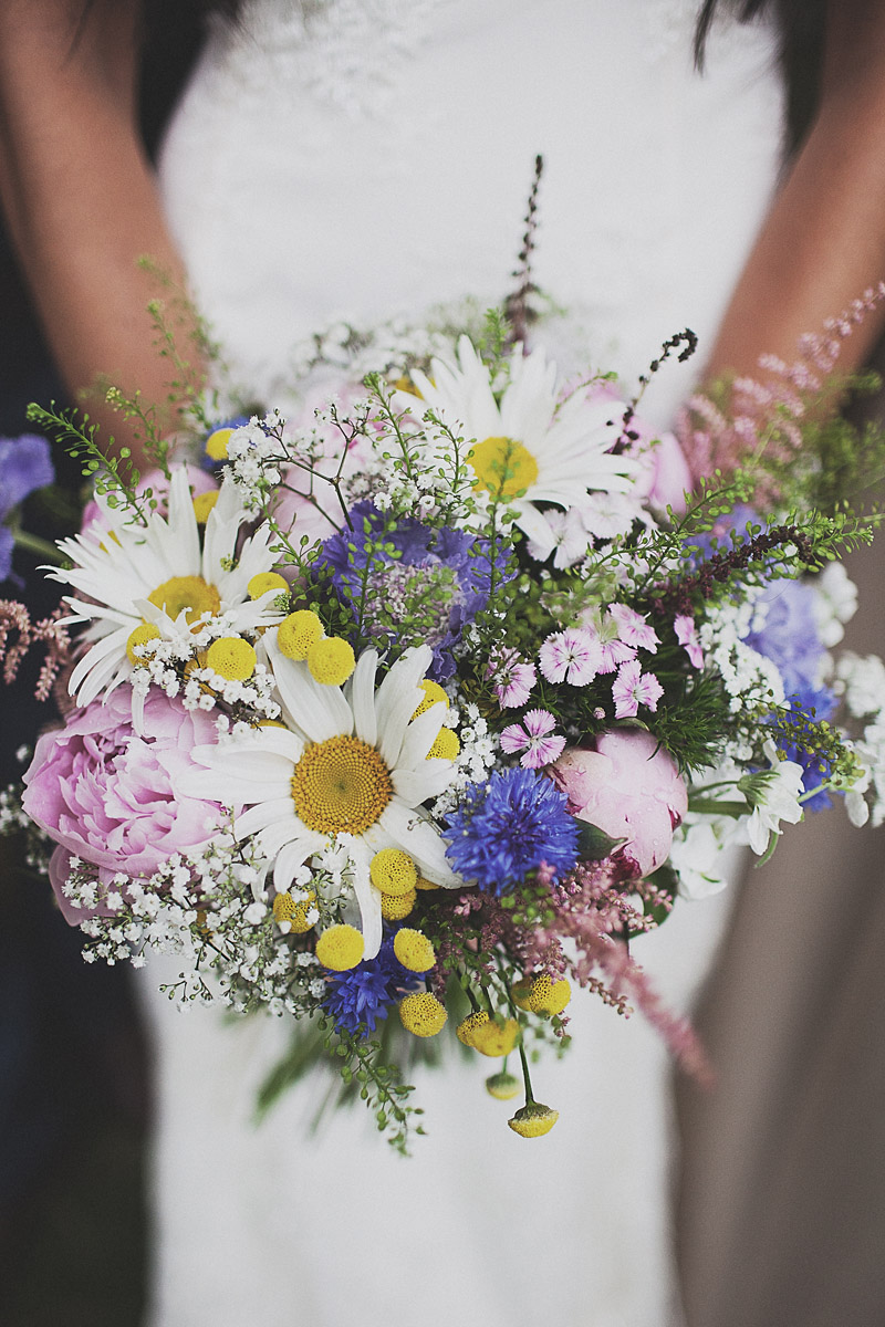 flower bouquets for weddings a festival inspired bohemian wedding with wildflowers and 4143