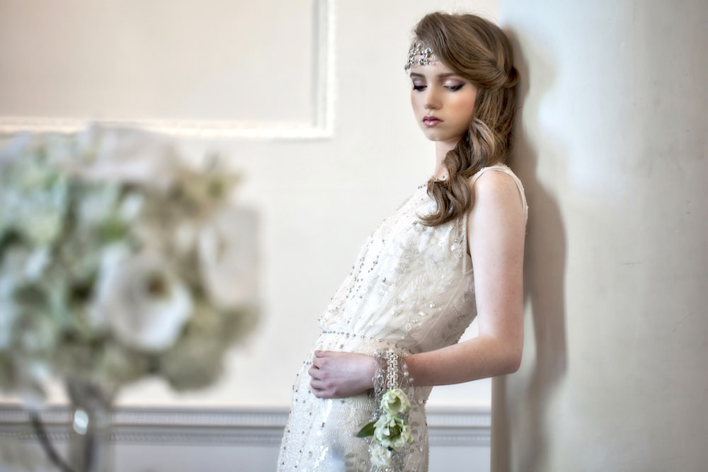 Simone by Jenny Packham and Savoy by Suzanne Neville For A Winter ...