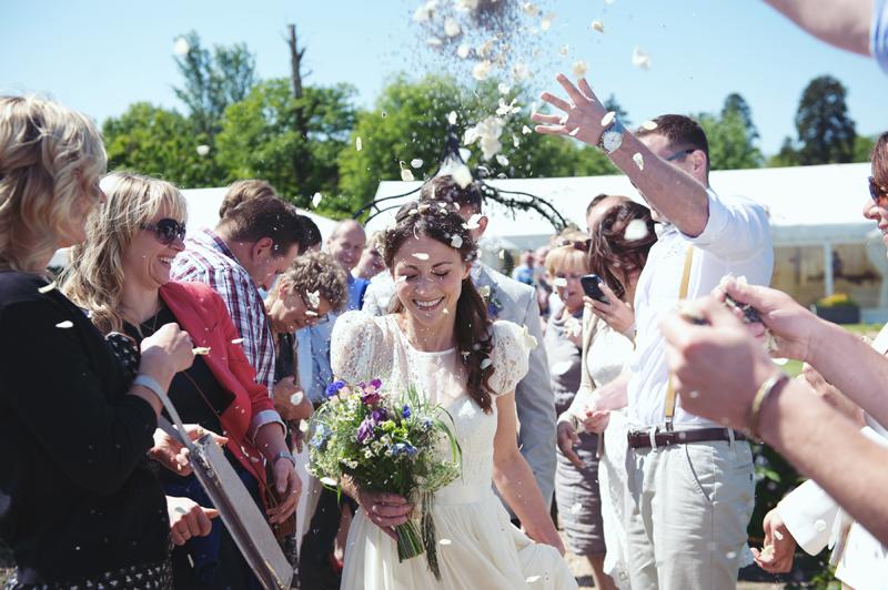 Garden Party Wedding at Secret Garden Restaurant Kent