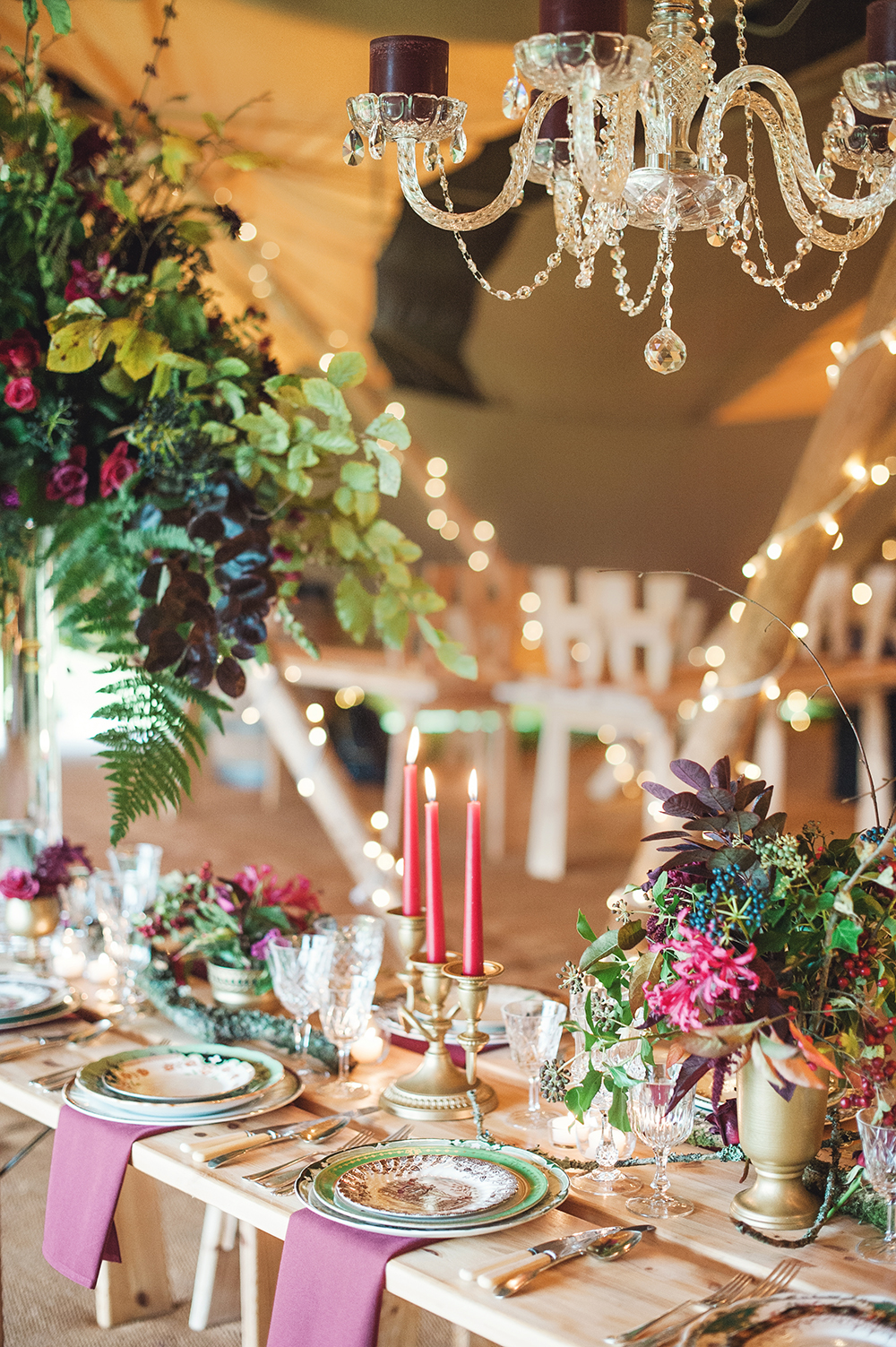Woodland Luxe Wedding Knighton House Dorset Images Darima