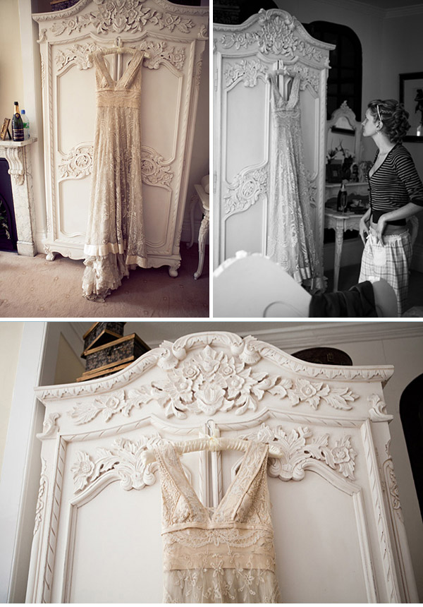 Eco Friendly: Vintage Wedding Dress