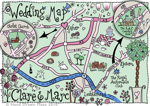 Hand Drawn Maps Archives Rock My Wedding Uk Wedding