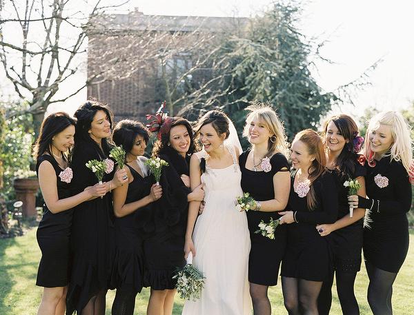 Black Bridesmaids Archives Rock My Wedding Uk Wedding Blog