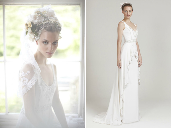 Temperley Wedding Gowns: Temperley Bridal Wedding Dress Collection New 2011 2012