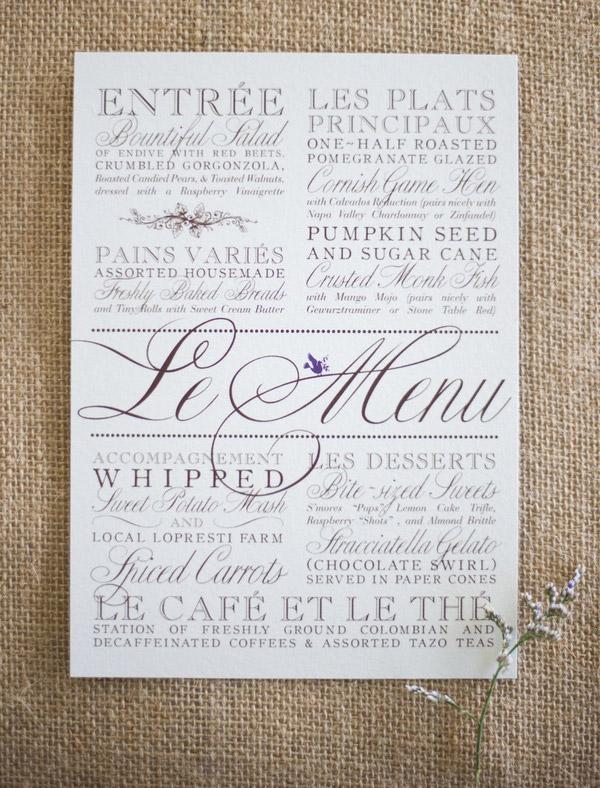 Menu ideas archives rock my wedding uk wedding blog directory image junglespirit Image collections