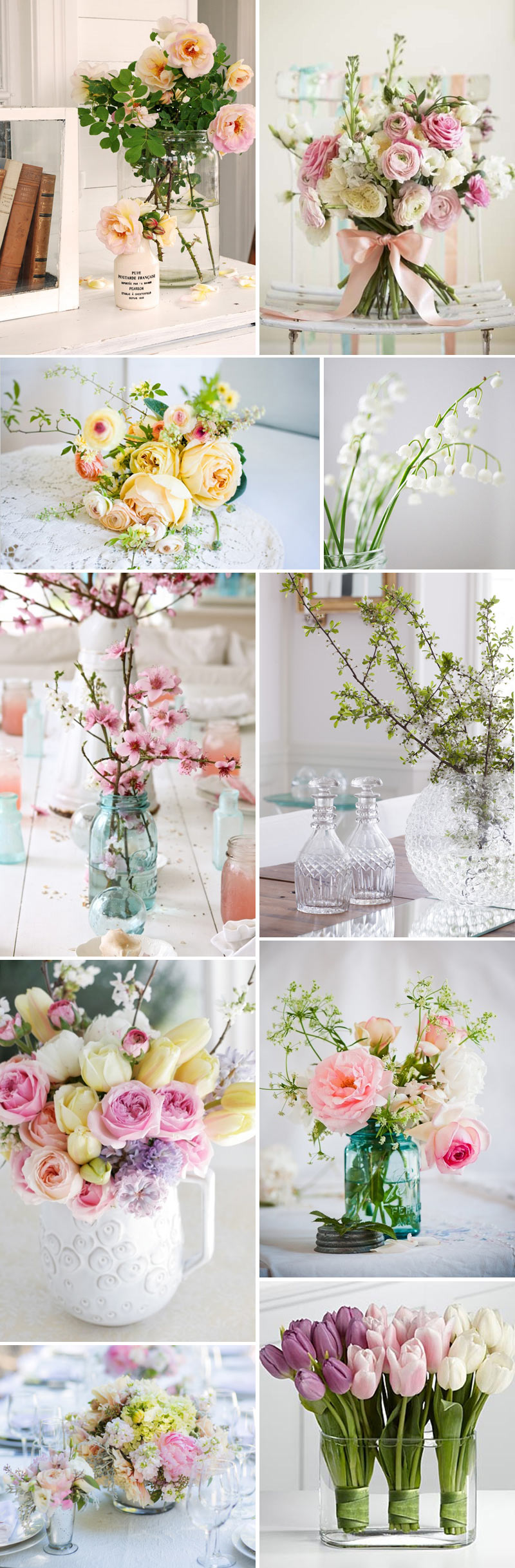 In Bloom Spring Wedding Floral Flower Inspiration